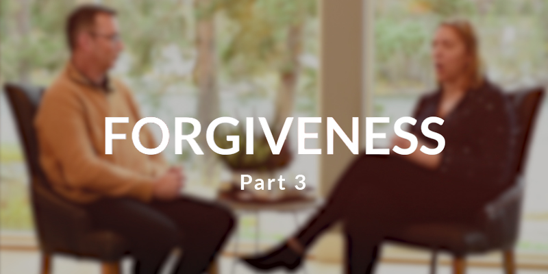 Forgiveness: Double grace, a new creation, and eternity (video)