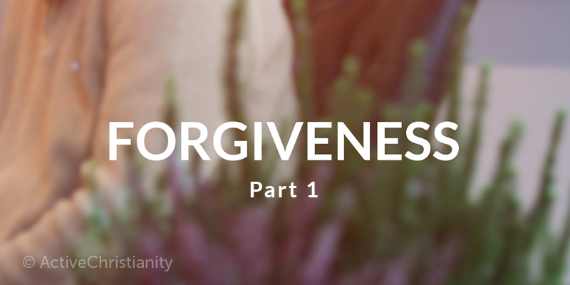Forgiveness: Sin, Jesus' love for us, and a clean slate